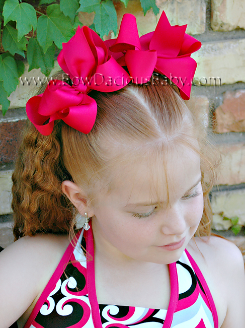 *Loopie Chic Boutique Hair Bows Knot Center, Color Choices
