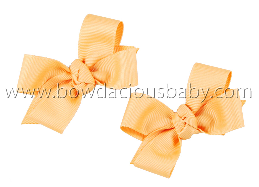 Mini Classic Boutique Hair Bows Knot Center, Color Choices