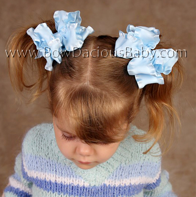 Ruffle Boutique Hair Bow
