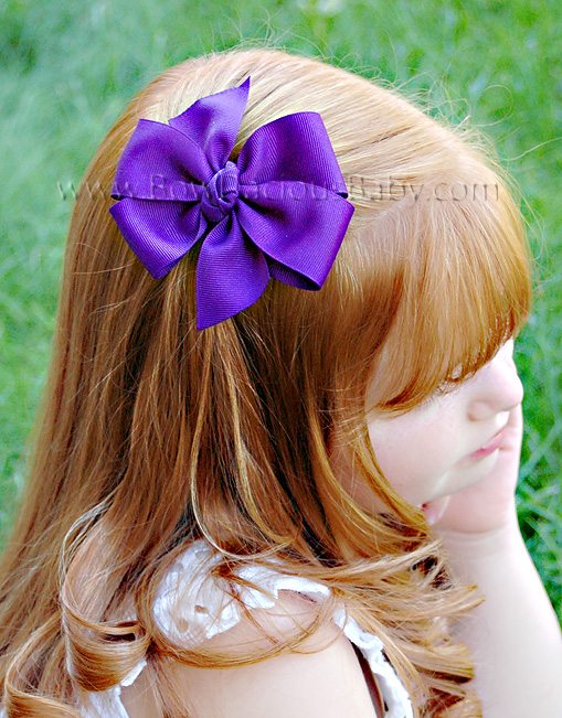 Traditional Boutique Hair Bow Knot Center, Color Choices