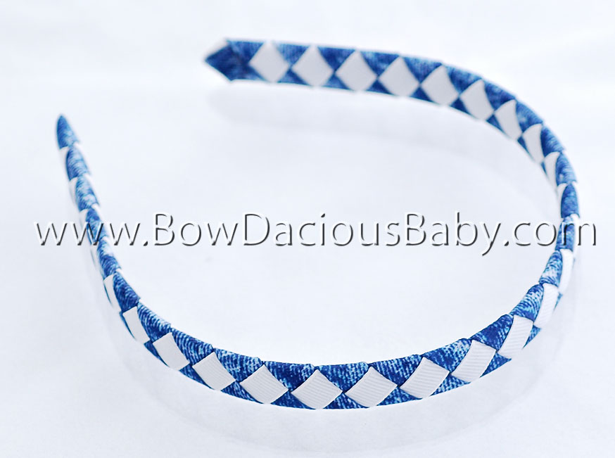 Denim Woven Headband