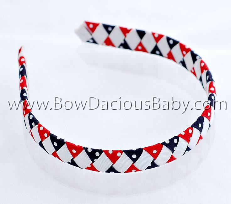 Patriotic Woven Headband
